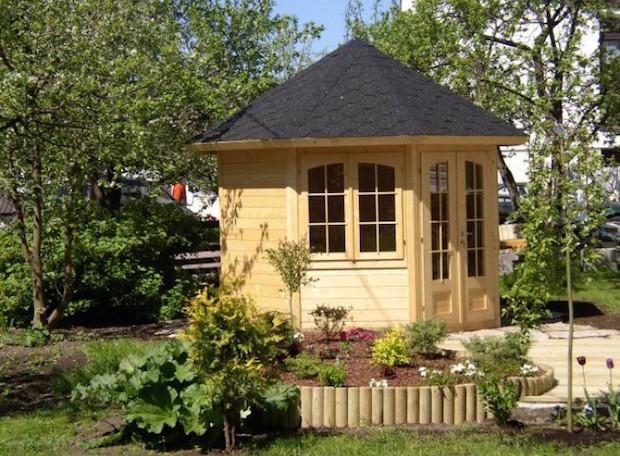 Holzland Jacobsen GmbH & Co. KG, Gartenpavillon Modell Veronica 2