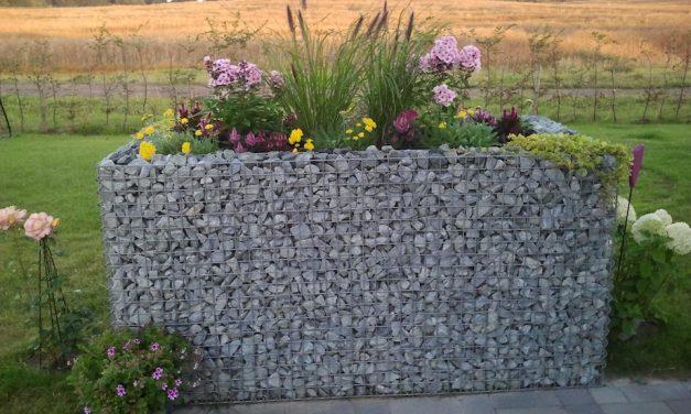 Gabionen für ein Hochbeet – Etwas anders gärtnern